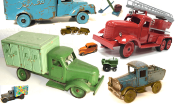 жестяные грузовики